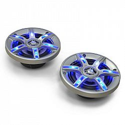 Auna 10 cm auto reproduktory Auny CS-LED4, 500 W, světelný efekt