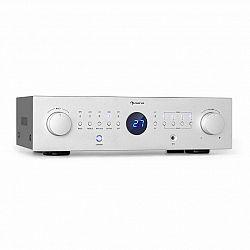 Auna AMP-CD950 DG, digitální vícekanálový zesilovač, 8x 100 W, BT, opt. vstup, dálkové ovládání