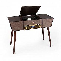 Auna Belle Epoque 1912, retro gramofon, CD, BT, USB, DAB + / FM, hnědý