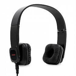 Auna BTF2-KUL03, Bluetooth sluchátka, heandsfree, kůže