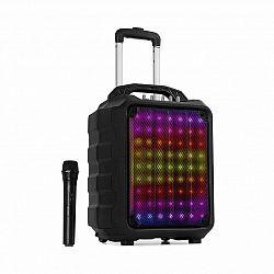 Auna Moving 80.1, prenosný LED PA systém, 8