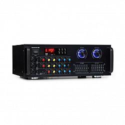 Auna Pro Amp-Pro1 BT, PA zesilovač, RMS 2 x 50 W, BT, USB, SD, 2kanálový 7pásmový ekvalizér