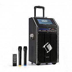 Auna Pro DISGO Box, 100 DVD, mobilní PA systém, max. 300 W, 9