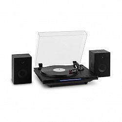 Auna TT-Play, PLUS, gramofon, reproduktory, max.20W, BT, 33/45/78 rpm