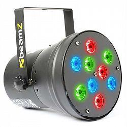 Beamz beam Z LED PAR36 Spot LED světelný efekt 9x 1W RGB DMX