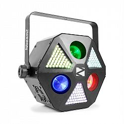 Beamz BeamZ MadMan, LED reflektor, 132 RGB SMD LED světel, DMX nebo samostatný režim