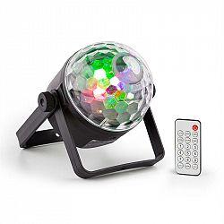 Beamz BeamZ PLS35 DJ Jellyball, 4x 3W červené, zelené, modré a UV LED diody, DMX nebo samostatný provoz