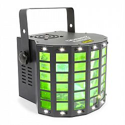 Beamz BeamZ Radical 2, efekty 3v1, 4x 3W RGBW LED diody, laser červený/zelený, 4 DMX kanály