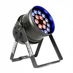 Beamz BPP210, LED PAR reflektor, 64 18x 12W 4-v-1 LED diod, včetně dálkového ovládání