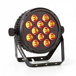 Beamz BT310 FlatPAR 12x 8W 4-v-1-LEDs RGBAW-UV DMX IR-dálkové ovládání