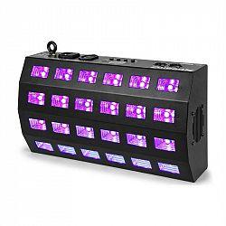 Beamz BUV463 LED UV stroboskop 24x3W DMX 85W, černý
