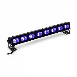 Beamz BUVW83, LED světelná rampa, 8 x 3 W UV/WW 2 v 1, 30 W, plug & play, tichý provoz