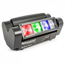 Beamz MHL820, 24 W, LIŠTOVÝ SVĚTELNÝ EFEKT S DVOJITÝMI PAPRSKY, 8 X 3W RGBW LED, DMX, INFRAČERVENÉ DÁLKOVÉ OVLÁDÁNÍ