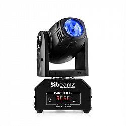 Beamz Panther 15 Pocket, otočná hlavice pro světelné efekty, 4 v 1 CREE LED diody, 10 W