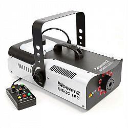Beamz S1500LED, 1500 W, mlhovač + 9 RGB LED SVÍTILNY, 2,5 L NÁDRŽ, DMX