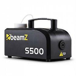 Beamz S500 nová edice, 500 W, mlhovač, 50 m3, 250 ml mlžné tekutiny