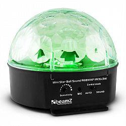 Beamz Starball, 25 W, černý LED světelný efekt se 6x RGBWAP LED a dálkovým ovládáním