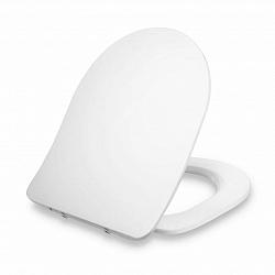Blumfeldt Aliano, deska na toaletu, D-tvar, automatické sklápění, antibakteriální, bílá