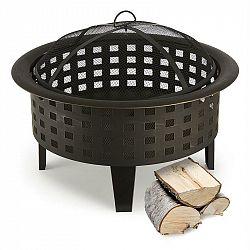 Blumfeldt Boston, ohniště, nádoba na oheň, Ø 70 cm, ocel, černěné