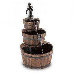 Blumfeldt Cascada 2G, kaskádová fontána, zahradní, 12 W, 800 l/h, dřevo