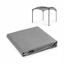 Blumfeldt Castello, pavilon - sluneční plachta, 3,5 x 3,5m, polyester, šedá