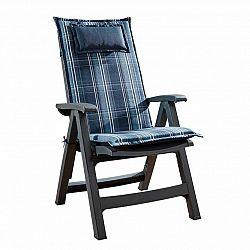 Blumfeldt Donau, čalouněná podložka, podložka na židli, podložka na vyšší polohovací křeslo, na zahradní židli, polyester, 50 × 120 × 6 cm