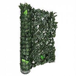 Blumfeldt Fency Dark Leaf, plot na ochranu před pozorováním, ochrana před větrem, 300 x 100 cm, buk, tmavě zelený