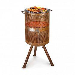 Blumfeldt Flame Goblet, ohniště a gril, Ø 44 cm, ocel