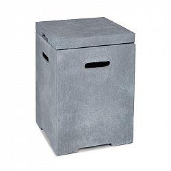 Blumfeldt Gas Garage, box na uskladnění nádoby s plynem do 9 kg, světle šedý