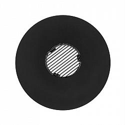 Blumfeldt Heat disck, kruhový nástavec na grilování s mřížkou pro grily s ø 57 cm, ocel, černý