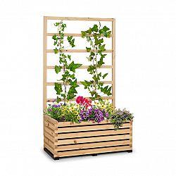 Blumfeldt Modu Grow 100, souprava vyvýšeného záhonu a mřížky, 100 x 151 x 45 cm, borovicové dřevo, bublinková fólie