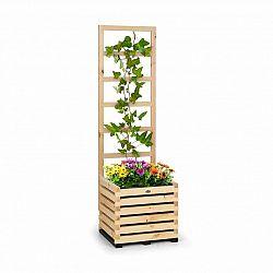 Blumfeldt Modu Grow 50, souprava vyvýšeného záhonu a mřížky, 50 x 151 x 45 cm, borovicové dřevo, bublinková fólie