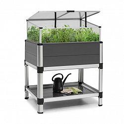 Blumfeldt Novagrow Advanced, skleník, 78,5x101,5x60,5cm, 113l, UV ochrana, šedý
