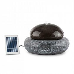 Blumfeldt Ocean Planet, solární fontána, 200l / h, solární panel, 2W akumulátor, LED, polyresin
