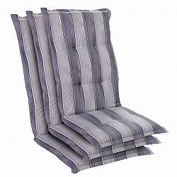 Blumfeldt Prato, čalounění, čalounění na křeslo, vysoké opěradlo, zahradní židle, polyester, 50 x 120 x 7 cm