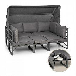 Blumfeldt Ravenna, sedací souprava, 4ks, variabilní, hliník, antracit