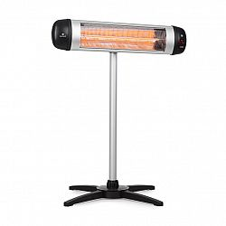 Blumfeldt Rising Sun, infračervený teplomet, 850/1650/2500 W, hliník