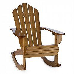 Blumfeldt Rushmore, zahradní židle, houpací křeslo, adirondack, 71 x 95 x 105 cm, hnědá