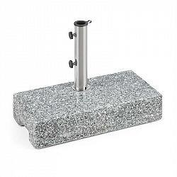 Blumfeldt Schirmherr 25HSQ, stojan na slunečník, 25 kg, podstavec, leštěný granit