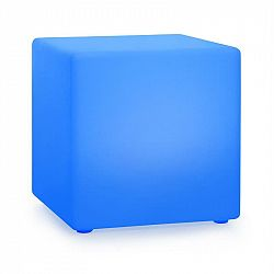 Blumfeldt Shinecube XL, svítící kostka, 40x40x40 cm, 16 LED barev, 4 světelné režimy, bílá