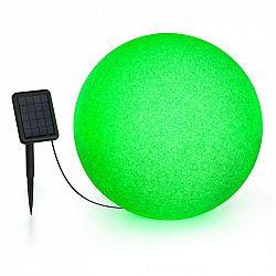 Blumfeldt Shinestone Solar 50, kulová lampa, solární panel, Ø 50 cm, RGB-LED, IP68, akumulátor