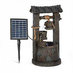 Blumfeldt Speyer, kaskádová fontána, solární fontána, zahradní fontána, 4 úrovně, akumulátorový provoz
