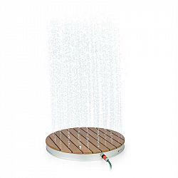 Blumfeldt Sumatra Breeze, RD, zahradní sprcha, WPC hliník,Ø70, 4cm, kulatá