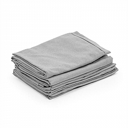 Blumfeldt Titania Dining Set, potahy na čalounění, 10 dílů, 100% polyester, světle šedé