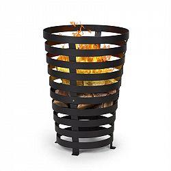 Blumfeldt Verus, ohniště, koš na oheň, z oceli, stabilní postavení, pevný, černý