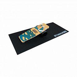 BoarderKING Indoorboard Limited Edition Wakeboard, balanční deska, podložka, válec, dřevo/korek