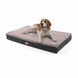 Brunolie Balu, pelíšek pro psa, polštář pro psa, možnost praní, ortopedický, protiskluzový, prodyšná paměťová pěna, velikost L (100 x 10 x 65 cm)