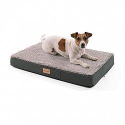Brunolie Balu, pelíšek pro psa, polštář pro psa, možnost praní, ortopedický, protiskluzový, prodyšná paměťová pěna, velikost S (72 x 8 x 50 cm)