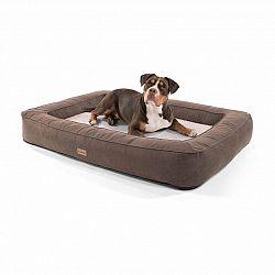 Brunolie Bruno, pelíšek pro psa, koš pro psa, možnost praní, ortopedický, protiskluzový, prodyšný, paměťová pěna, velikost XL (120 × 17 × 85 cm)