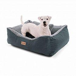 Brunolie Emma, pelech pro psa, koš pro psa, možnost praní, protiskluzový, prodyšný, oboustranná matrace, velikost S (67 x 20 x 59 cm)
